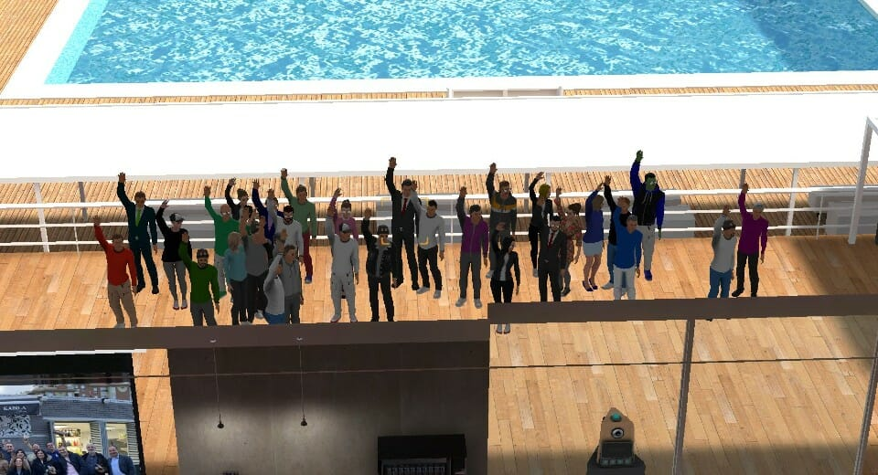Grupo evento virtual MTP